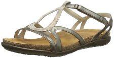 "New! Woman's Naot ""Dorith"" Gladiator Snake Print Leather Sandals Size 5 EU36"