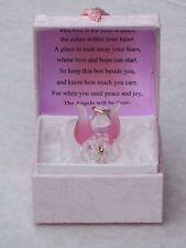 ANGELIC@PINK@PRAYER Verse@WORRY BOX@UNIQUE inspirational keepsake gift@22Kt Gold