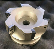 "R8 shank face milling cutter  #506-FMT-3 3/"" 90 degree indexable face shell mill"