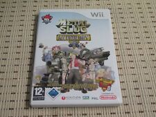 METAL Slug Anthology per Nintendo Wii e Wii U * OVP *
