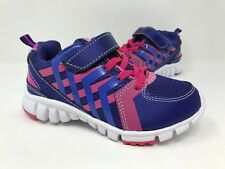 New! Toddler Girls Jumping Beans Bolt 096430 Sneakers Purple/Pink B9