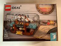 LEGO Ideas 21313 Ship in a Bottle *Brand New* IN HAND!!