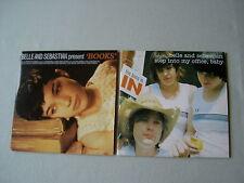 BELLE AND SEBASTIAN job lot of 2 promo CD singles Books