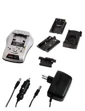Hama Ladegerät-Set für Camcorder und Fotokamera
