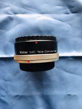 Vivitar 2X Tele Converter MC for Canon C/FD, FL