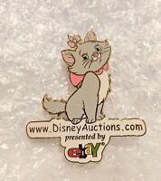 Disney Auctions Marie & DA.com Logo LE 5000 Disney Pin 30556 Aristocats MINT