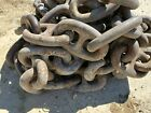 73 Feet of Used 3' Diameter Stud Link Anchor Chain. Local pickup only