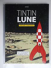 Tintin et la Lune Double album TBE Objectif Lune On a marcéh sur la Lune
