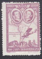 Spain 1930 - 1P Purple Air - Spanish American Exhibition - MNH - SG649 (D10D)