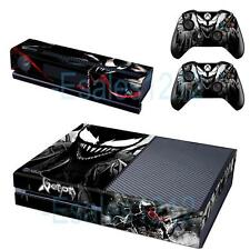 Spider Man Venom Skin Decals Stickers for Xbox one Console Kinect 2 Controllers