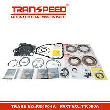 RE4F04A Transmission Master Rebuild kit Overhaul For Nissan Transpeed T10500A