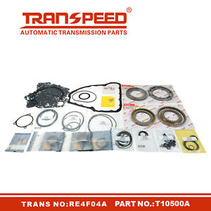 RE4F04A Transmission Master Rebuild kit Overhaul For Nissan Transpeed T10500A