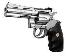 """Colt Python 357 Magnum 4 in Stainless Model"" Tokyo Marui AIR HOP hand gun Japan"