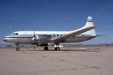 Original 35 mm Slide Aircraft/Plane Resorts Cva-580 N73153 May 1989 #P1970