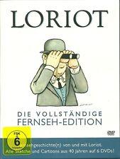 Loriot Die vollständige Fernseh-Edition 6 DVD Box Neu OVP Sealed 2007