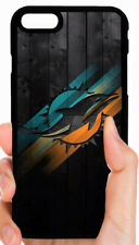 MIAMI DOLPHINS NFL PHONE CASE FOR iPHONE XS MAX XR X 8 7 PLUS 6S 6 PLUS 5S 5C 4S
