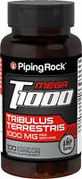 Piping Rock Tribulus Max Standardized 500 mg 100 Capsules Dietary Supplement