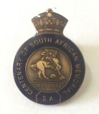 Boer War 1899 1902 South Australia Centenary South African Memorial Statue Badge