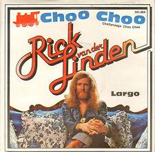 "RICK VAN DER LINDEN – Choo Choo (1978 SOLO VINYL SINGLE 7"" EKSEPTION FRONTMAN)"