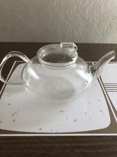 New Tupper Living By Tupperware Blooming Teapot Glass Tea Pot