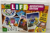 The Game Of Life Adventures Edition Board Game Classic Family Fun Age 9+ MB Game