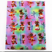 In the Night Garden Fabric  Poly Cotton 1m x 1.45m (width) Igglepiggle