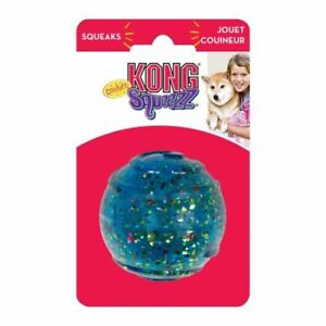 KONG Squeezz Confetti Ball Dog Toy Medium - 1 Count