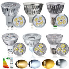 10x 3W 4W LED Leuchtmittel Birne Strahler Spot Lampe Warmweiß/weiß GU10,MR16,E27