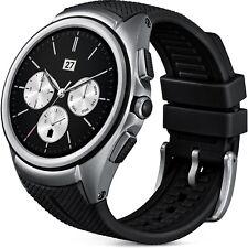LG OEM Smart Watch Urbane 2nd Edition, 3G, 4 GB, GPS, W200E Silver Black Stylish
