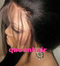 Full Lace wig Lace Front Wigs Peruvian  Human Hair  yaki straight  Baby Hair