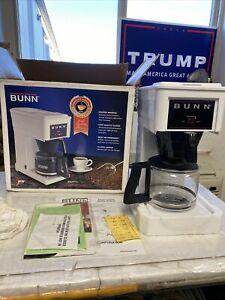 Bunn Pour-Omatic Coffee Brewer Restaurant Quality GR-White 10 Cup (Aa70