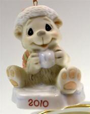 Precious Moments Ornament Dated 2010 Polar Bear w/ Snowball 101007 Bx FreeusaShp