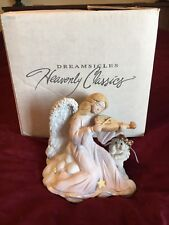 Dreamsicles Music Appreciation Dc354 In Box Large Guardian Angel Cherub 1995