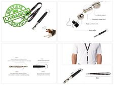 SHENNOSI® Sifflet anti-aboiements pour chien Dressage par ultrasons Argenté