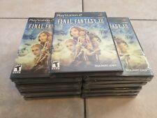 Final Fantasy Xii (Sony PlayStation 2, 2006) Ps2 Black Label New