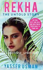 Rekha: The Untold Story Hardcover by Yasser Usman - New- Worldwide Shipping free