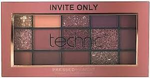 Technic Invite Only Pressed Pigments Eye shadow Palette - new