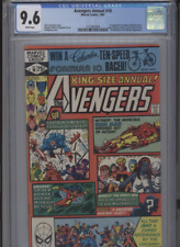 AVENGERS ANNUAL #10 NM 9.6 CGC 1ST APP. OF ROGUE AND MADELYN PRYOR GOLDEN ART