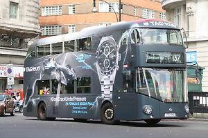 New bus for London - Borismaster LT343 6x4 Quality Bus Photo