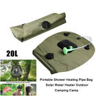 20L PVC Portable Shower Heating Pipe Bag Solar Water Heater Outdoor Camping Tool