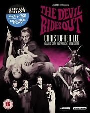The Devil Rides Out - Christopher Lee - New Blu-Ray & DVD