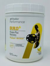 Shaklee Performance Build+ Protein Plus Recovery BANANA Build + Powder Shake NEW