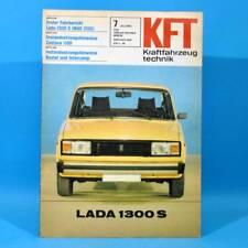 DDR KfT Kraftfahrzeugtechnik 7/1982 Lada 1300 S 2105 Fiat Ritmo Opel Ascona 43