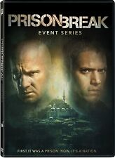 Prison Break Resurrection The Complete TV Event Series NEW 3-DISC US DVD SET