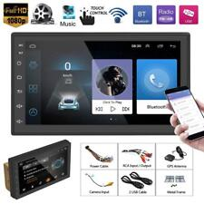 """2 DIN 7"""" Android Car Stereo MP5 Player Bluetooth 3G WiFi GPS Navi AM/FM Radio TV"""