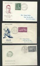 INDIA REPUBLIC - 48 different special event & FDCs - 1958-1972 - sixteen images