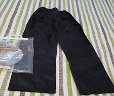 NEW BOY'S / GIRL'S STORMBREAKER TROUSERS BLACK SIZE 7-8 YEARS  REGATTA