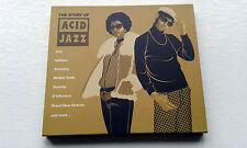 Story of Acid Jazz 2CD SET JTQ, QUIET BOYS BRAND NEW HEAVIES PURE WILDNESS ETC