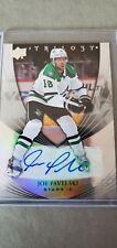 NHL Dallas Stars Joe Pavelski Upper Deck Trilogy Autographed Card