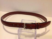 Men's Perry Ellis Portfolio Casual Brown Leather Belt Size 38/95 1P35150